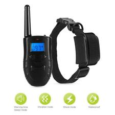 300M Remote Control Pet Dog Training Collar With 99 Levels of Vibrating & Shock