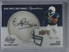 2011 Upper Deck Sweet Spot Rookie Signatures #RS-ER Evan Royster Auto Card