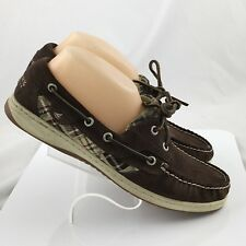 Sperry Top-Sider 9173774 womens Bluefish 2 Eye Boat Shoes size 9.5M brown casual