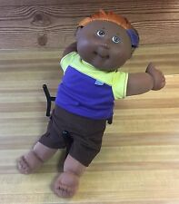 """Cabbage Patch Kids 2004 PLAY ALONG PA-2 African American Male Streaked Hair 16"""""""