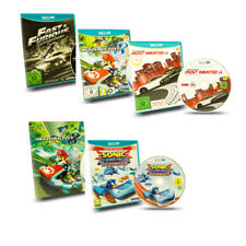 Wii U Racing Game Mario Kart 8 Need for Speed Most Wanted Sonic & Allstars