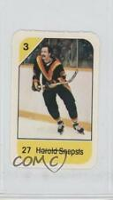 1982-83 Post Cereal #27.8 Harold Snepsts Vancouver Canucks Hockey Card