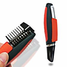 Male Switchblade Electric Shaver Grooming Remover Hair Trimmer 2 In 1 Mustache