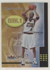 2000 Fleer Mystique Dial 1 #3DO Allen Iverson Philadelphia 76ers Basketball Card