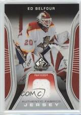 2006 SP Game Used Edition Authentic Fabrics Jersey #AF-EB Ed Belfour Hockey Card