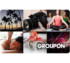 Groupon Gift Card $25, $50, or $100 - Fast email delivery