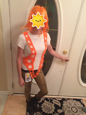 Ultimate Edition!  Leeloo Dallas Fifth Element COMPLETE costume!!