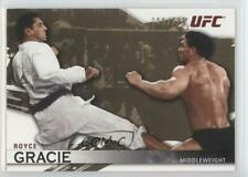 2010 Topps UFC Knockout Gold #1 Royce Gracie MMA Card