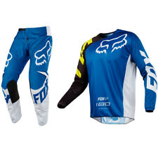 FOX RACING 180 MOTOCROSS MX KIT PANTS JERSEY - RACE BLUE