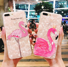 case for iphone 6 6s 7 8 plus X Lovely Flamingo Pattern Shell Soft TPU Cover