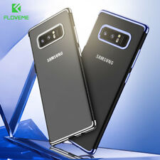 FLOVEME® Transparent Case Cover Samsung Galaxy S8 Plus Note 8 Ultra Thin Soft