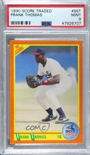 1990 Score Rookie & Traded #86T Frank Thomas PSA 9 MINT Chicago White Sox Card