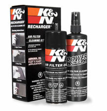 K&N 99-5000 Air Filter Recharge Recharger Service Care Kit Cleaner Spray Red Oil