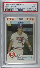1986 Southern League All-Stars #14 Jose Canseco PSA 9 MINT Huntsville Stars Card