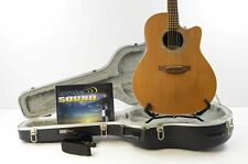 Ovation GCS771-C Balladeer Special Acoustic-Electric Guitar-Natural w/OHSC USA