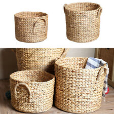 Seagrass Belly Storage Laundry Basket Home Toy Organizer Plant Pot Decor S/M