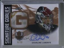 2018 Leaf Masked Men Signature Goalies Bronze #SG-CL1 Charline Labonte Auto Card