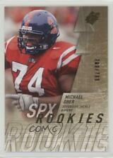 2009 SPx #210 Michael Oher Baltimore Ravens Mississippi Rebels RC Football Card