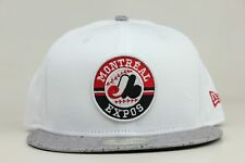 Montreal Expos White Cement Jordan 4 Olympic Stadium New Era 59Fifty Fitted Hat