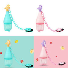 Baby Feeding Fruit Feeder Pacifier Soothers Baby Bite Set Pacifier Chain