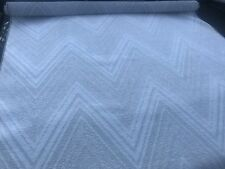 FULL ROLL 20 MTRS ITALIAN BEIGE SELF PATTERNED WEAVE UPHOLSTERY/CURTAIN FABRIC