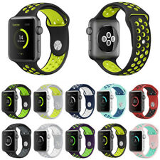 42mm Sports Silicone Nike Apple Watch Strap Band Bracelet Series 1 2 3 38mm