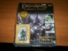 Eaglemoss Lord Of The Rings Issue 40 - Gondorian Soldier at Minas Tirith