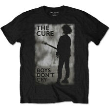 The Cure 'Boys Don't Cry' Black T-Shirt *Official Merchandise*