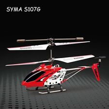 Syma S107 S107G 3 CH Radio Control RC Helicopter Alloy Copter Night Flight Gyro