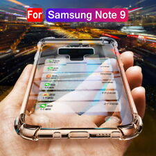 For Samsung Galaxy  Note 9 S8 Plus Ultra Thin Soft TPU  Clear Case Phone Cover