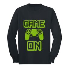 Game On - Perfect Gift For Gamers - Gaming Gamer Youth Kids Long Sleeve T-Shirt