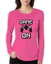 Game On - Awesome Gift For Gamers - Gaming Gamer Women Long Sleeve T-Shirt Video