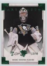 2013 Upper Deck Artifacts Emerald 117 Marc-Andre Fleury Pittsburgh Penguins Card