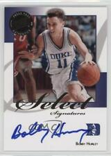 2008 Press Pass Legends Select Signatures #SS-BH.1 Bobby Hurley (Blue Ink) Auto