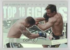 2009 Topps UFC Round 1 Top 10 Fights of 2008 #TT24 Frankie Edgar Sean Sherk Card