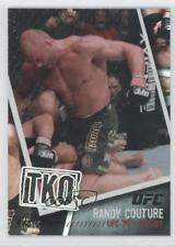 2009 Topps UFC Photo Finish Black #PF-21 Randy Couture MMA Card