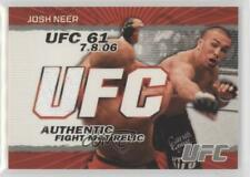 2009 Topps UFC Authentic Fight Mat Relic #FM-JN Josh Neer MMA Card