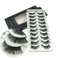 Gam-Belle® 10 pairs/lot Lash Extension Women Ladies Thick False Eyelashes Long