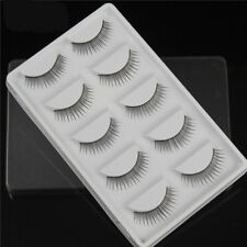 Gam-Belle® 5pairs/set Natural False Eyelashes 3D Soft Long Black Thick Extension