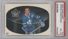 1962 Parkhurst #13 George Armstrong PSA 6 EX-MT Toronto Maple Leafs Hockey Card