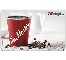 Tim Horton's Gift Card $25, $50, or $100 - email delivery