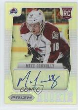 2012-13 Panini Rookie Anthology #64 Mike Connolly Colorado Avalanche Auto Card