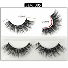 Gam-Belle® 3 pairs/set Natural Long Sexy False Eyelashes Handmade Party Thick 3D