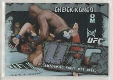 2010 Topps UFC Main Event Fight Mat Relics #FMR-CK Cheick Kongo MMA Card