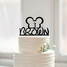 Buythrow® Happy Birthday Cake Topper Baby Shower Cake Topper With Cute Cartoon