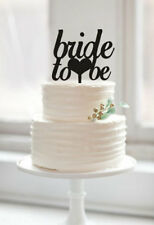 Buythrow® Bride To Be Cake Topper Wedding Bridal Shower Cake Toppers Custom