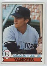 1979 Topps Burger King Restaurant New York Yankees #15 Graig Nettles Card