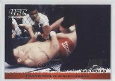 2009 Topps UFC Round 1 #12 Frank Mir vs Roberto Traven Rookie MMA Card