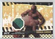 2010 Topps UFC Series 4 Fight Mat Relics Gold #FM-CK Cheick Kongo MMA Card