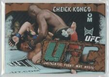 2010 Topps UFC Main Event Fight Mat Relics Bronze #FMR-CK Cheick Kongo MMA Card